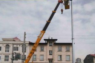 اجاره بالابر برای نصب دوربین مدار بسته