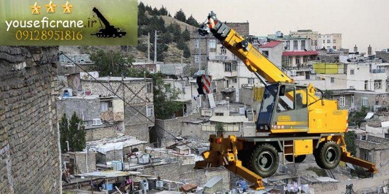 اجاره جرثقیل جنوب تهران