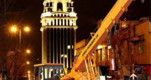 اجاره جرثقیل در امانیه