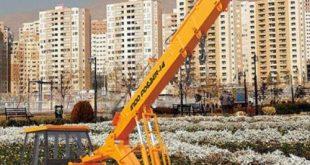 اجاره جرثقیل در آزادشهر تهران